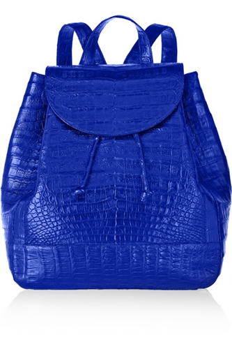 Nancy Gonzalez Glossed Crocodile Backpack Net A Porter.Com