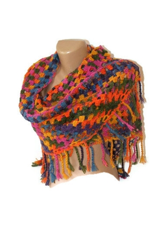 Crochet Shawl Crochet Shawls 2014 Crochet Trends By Senoaccessory