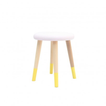 Rose In April Alice Stool Yellow Kids' Furniture Smallable