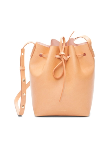 Mansur Gavriel Bucket Bag Blue Blue