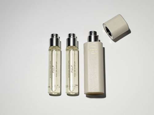 White Leather Travel Case Byredo Parfums Online Store