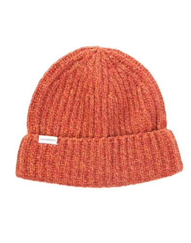 Saturdays Fox Beanie 07 Burno Orange Soto Berlin