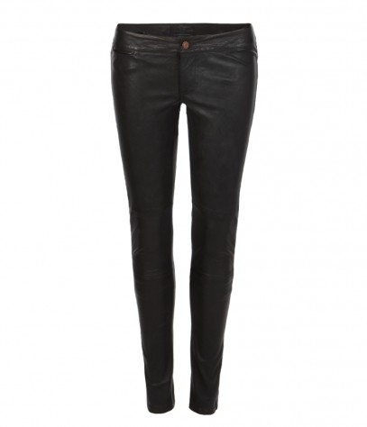 Elben Cropped Leather Trousers