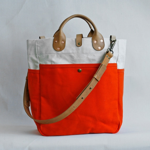 Garrison Bag Natural Flame by wintersession on Etsy