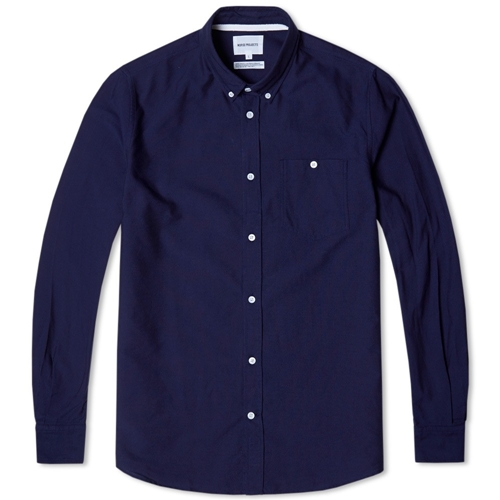 Norse Projects Anton Oxford Shirt Dark Navy