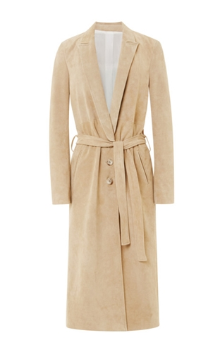 Single Breasted Belted Trench Coat By Wes Gordon Moda Operandi