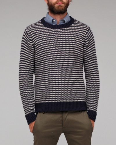 Need Supply Co Shades of Grey Naval Winter Sweater