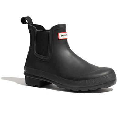 Hunter Chelsea Boots Weather Boots Madewell