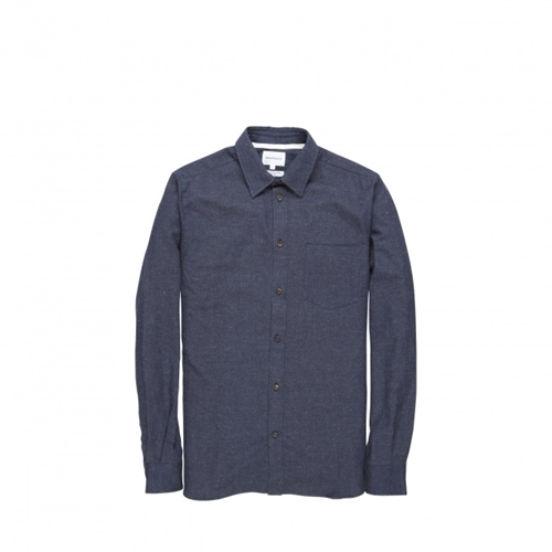 Norse Projects Anton Slub Cotton Shirt Norse Projects