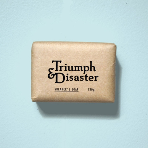 Triumph Disaster Shearers Soap Men's Grooming Products Men's Skincare