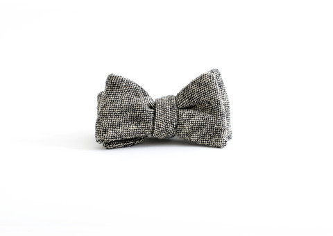 General Knot Lambswool Hopsacking Bow Tie Bow Ties Bow Ties Vetted