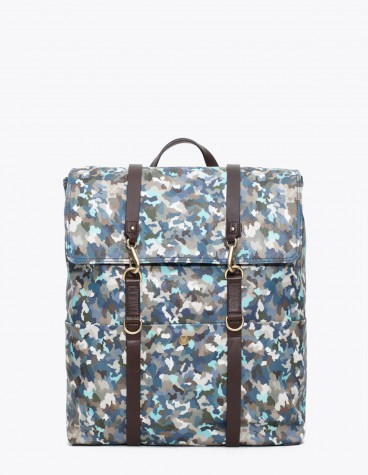 Mismo Backpack Camo Blue Tres Bien