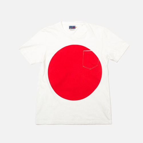 Blue Blue Japan Big Circle Print Tee Red Anthem