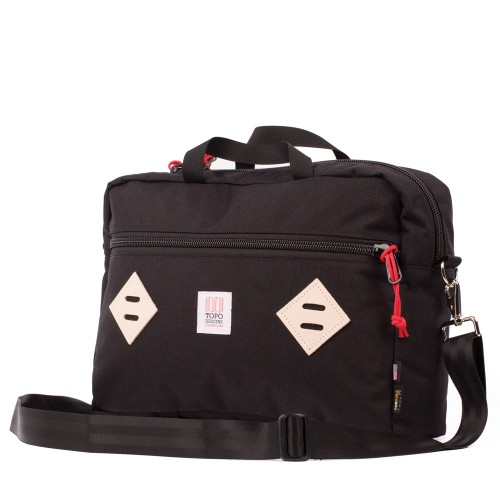 Topo Designs Mountain Briefcase Black Undscvrd