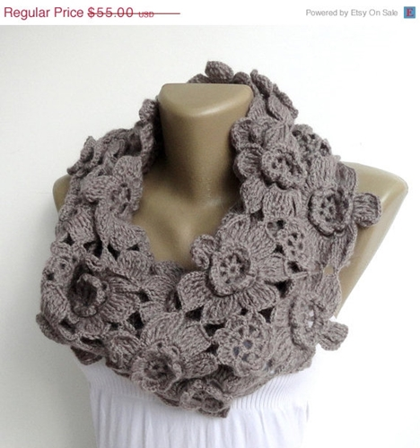 On Sale Women Alpaca Scarf Infinity Scarves By Senoaccessory