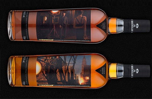 Annie Leibovitz for Macallan Masters of Photography Bottles Selectism