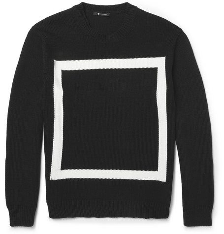Alexander Wang Knitted Cotton Blend Sweater Mr Porter