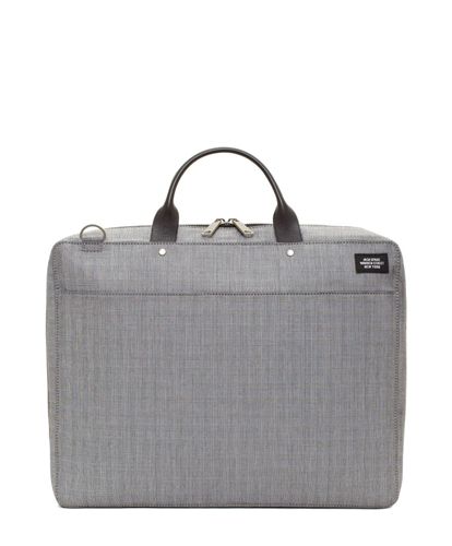 Jack Spade Grey Plaid Computer File Case