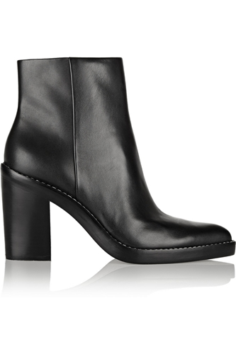 Kelli Leather Ankle Boots Alexander Wang 50 Off The Outnet