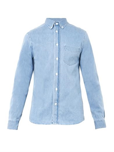 Isherwood Denim Shirt Acne Studios Matchesfashion.Com