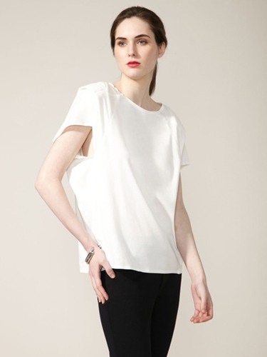 Quilted Geometric Panel Top by Ports 1961 brought to you by Gilt
