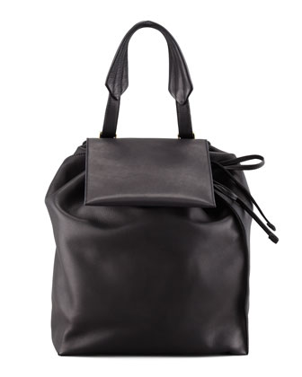 Marni Faux Pack Backpack Black Neiman Marcus
