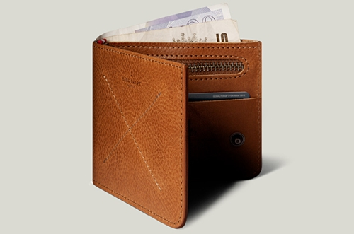Hard Graft Leather Zip Wallet For Coins Cash And Cards. Handmade In Italy. Hard Graft
