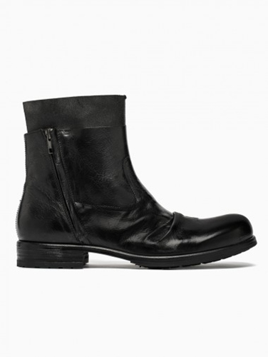 Double Layer Boots From F W2014 15 Shoto Collection In Black