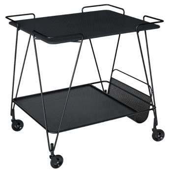 Mategot Trolley Black Gubi Mategot Tables Furniture Finnish Design Shop