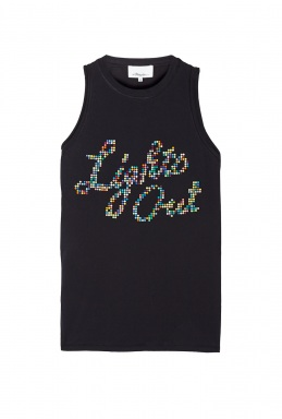 3.1 Phillip Lim Lights Out' Cut Tank By 3.1 Phillip Lim