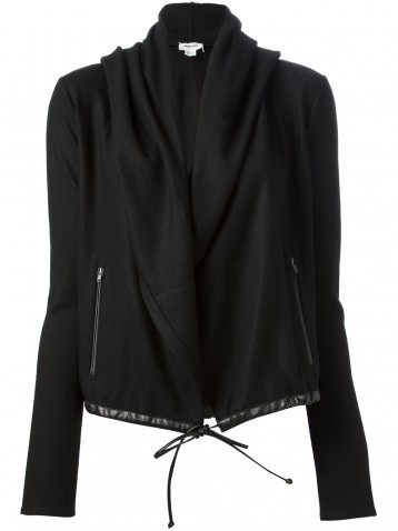 Helmut Lang Hooded Drape Jacket Helmut Lang Wool Jacket Helmut Lang Jacket Helmut Lang Hoodie Start London