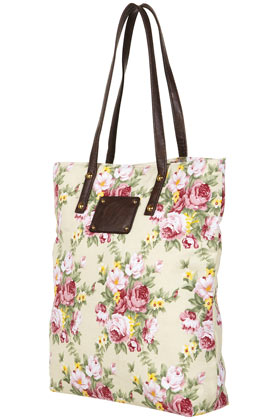 Floral Print Shopper Bags Wallets Accessories Topshop USA