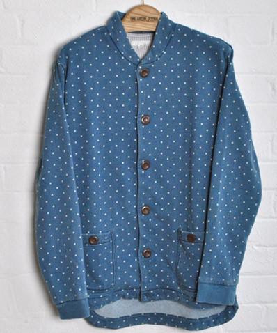 Bristol Polka Dot Cardigan The Great Divide