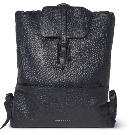 Burberry Shoes Accessories Full Grain Leather Backpack Mr Porter