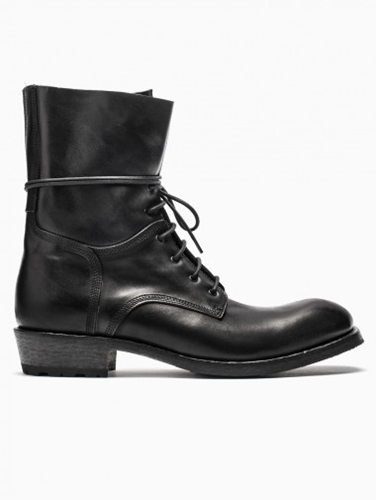 Combat Boots From F W2014 15 Shoto Collection In Black.