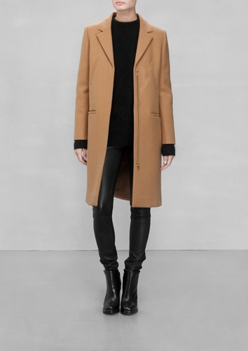 Other Stories Wool Blend Coat
