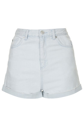 Moto Ice Bleach Mom Shorts Clothing Topshop Europe