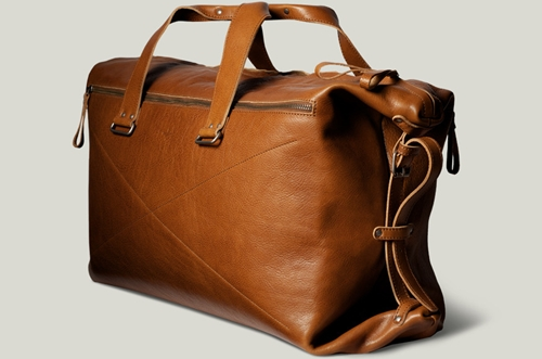 Hard Graft Leather Weekend Bag. Handmade In Italy. Hard Graft