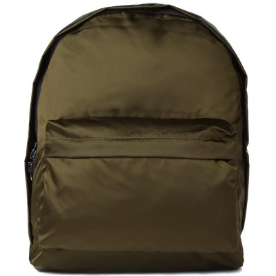 Acne Olov Compact Cotton Backpack Green