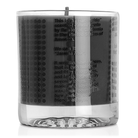 Baxter Of California Cassis Noir Candle