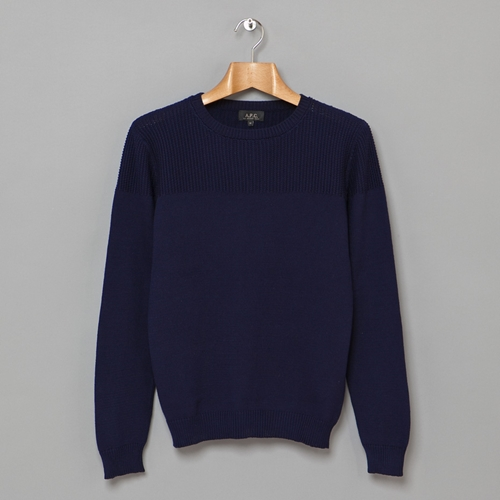 Bimatiere Knit Navy Oi Polloi