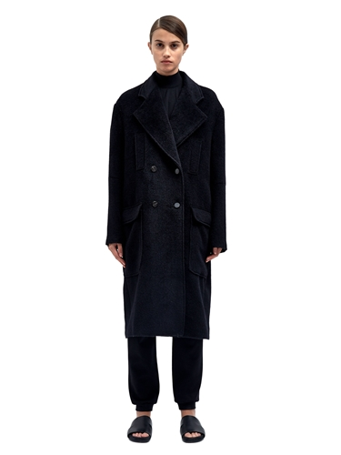 Damir Doma Womens Celo Double Breasted Coat Ln Cc