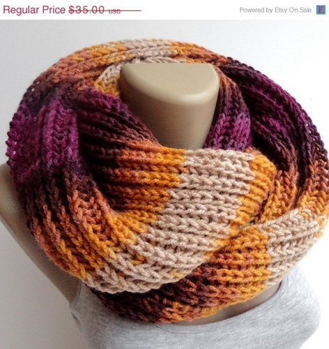 On Sale Spring Sale Colorful Winter Scarf Knitted By Senoaccessory
