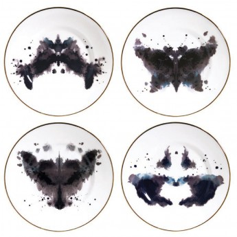 FINE BONE CHINA INK BLOT SERIES MUGS WE LOVE KAORU Contemporary Art Design Gifts Ideas Everything Begins