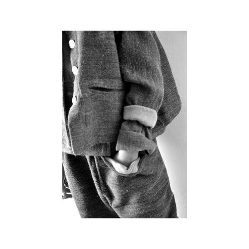 Trousers Gardener Grey Woolblend
