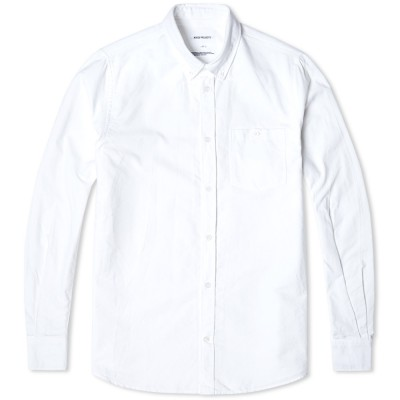 Norse Projects Anton Oxford Shirt White