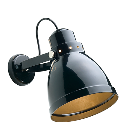 Black Steel Wall Light Wall Lights Lighting The Conran Shop Uk