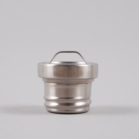 Klean Kanteen All Stainless Loop Cap Stainless