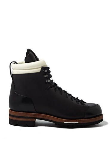 Feit Mens Tall Leather Arctic Hiker Boots