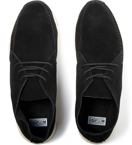 Ransom Black Black Alta Mid Shoes Hypebeast Store. Shop Online For Men's Fashion Streetwear Sneakers Accessories